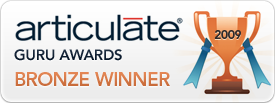 Articulate Guru award winner