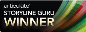 Articulate Storyline Guru award winner