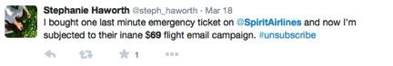 spirit airlines tweet