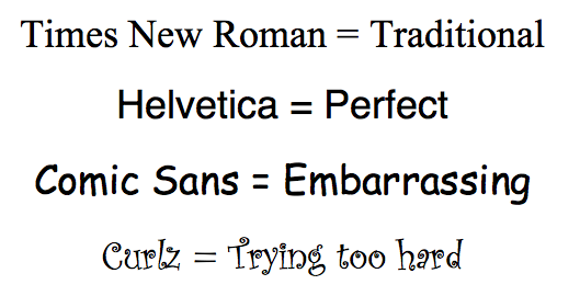 elearning font