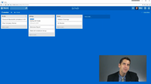 Articulate Replay showing desktop and talking head video