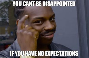 you can't be disappointed if you have no expectations - build eLearning internally